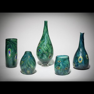 Peacock-vessels-set